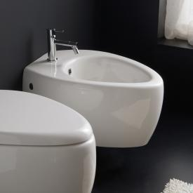 Scarabeo Moai wall-mounted bidet white, with BIO system coating
