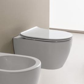 Scarabeo Moon wall-mounted washdown toilet white