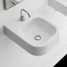 Scarabeo Next countertop or wall-mounted washbasin white