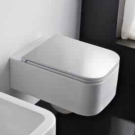 Scarabeo Next wall-mounted washdown toilet white