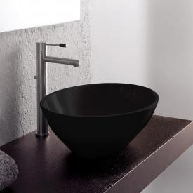 Scarabeo Ovo countertop washbasin black