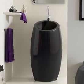Scarabeo Planet floorstanding washbasin black