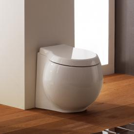 Scarabeo Planet floorstanding washdown toilet white, with BIO system coating