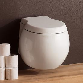 Scarabeo Planet wall-mounted washdown toilet white