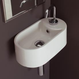 Scarabeo Seventy wall-mounted washbasin white, with BIO system coating