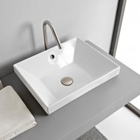 Scarabeo Teorema 2.0 built-in washbasin white