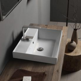 Scarabeo Teorema 2.0 drop-in washbasin white, with BIO system coating