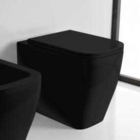 Scarabeo Teorema 2.0 floorstanding washdown toilet black, with BIO system coating