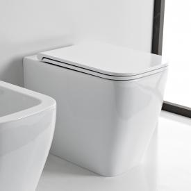 Scarabeo Teorema 2.0 floorstanding washdown toilet white, with BIO system coating