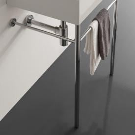 Scarabeo Teorema 2.0 metal console chrome, for washbasin 5105