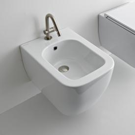 Scarabeo Teorema 2.0 wall-mounted bidet white, with BIO system coating