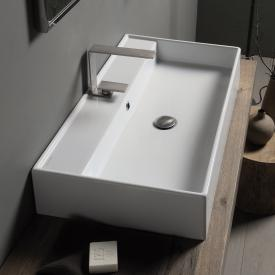 Scarabeo Teorema R countertop or wall-mounted washbasin white