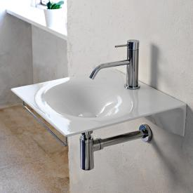 Scarabeo Veil hand washbasin white, with BIO system coating