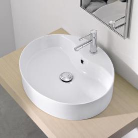Scarabeo Wind R countertop washbasin white