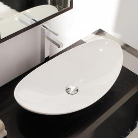 Scarabeo Zefiro countertop washbasin white, with BIO system coating