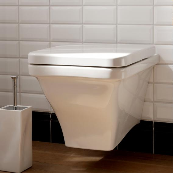 Scarabeo Butterfly wall-mounted washdown toilet white, with BIO System coating