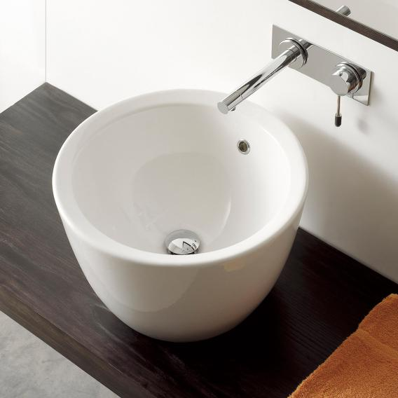Scarabeo Matty Tondo countertop washbasin white