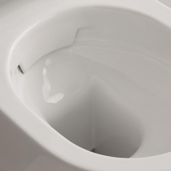 Scarabeo Moon wall-mounted washdown toilet black, with BIO system coating
