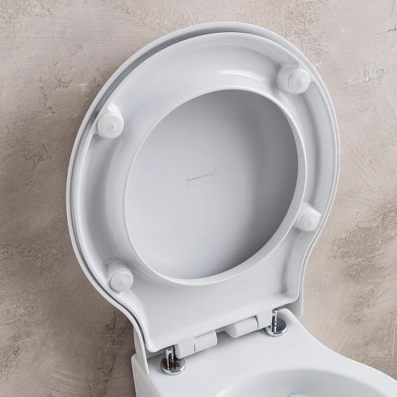 Scarabeo Planet toilet seat white, with soft close