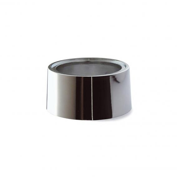Scarabeo replacement spacer piece, chrome-plated ABS