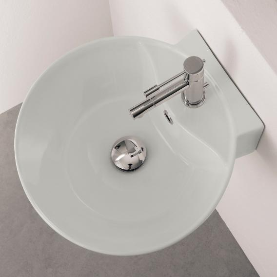 Scarabeo Sfera R countertop or wall-mounted washbasin white, with BIO system coating