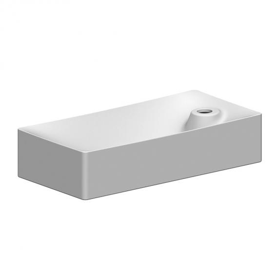 Scarabeo Soft countertop or wall-mounted washbasin white