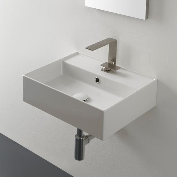 Scarabeo Teorema 2.0 countertop or wall-mounted hand washbasin white