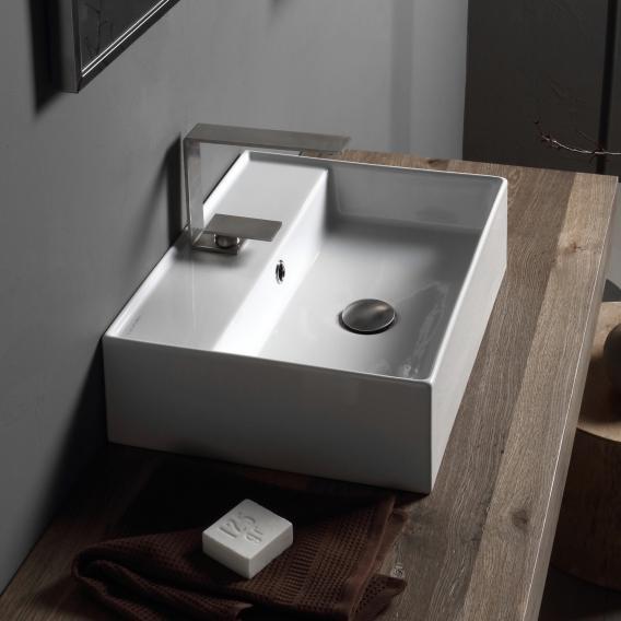 Scarabeo Teorema 2.0 countertop or wall-mounted hand washbasin white