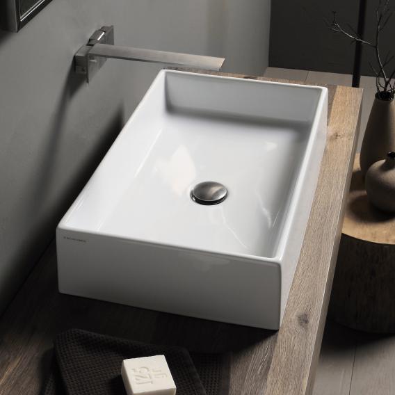 Scarabeo Teorema countertop washbasin white