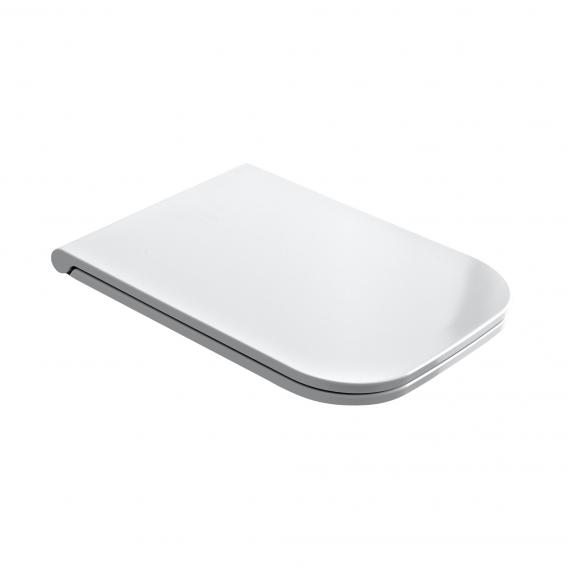 Scarabeo toilet seat, removable white, with soft close