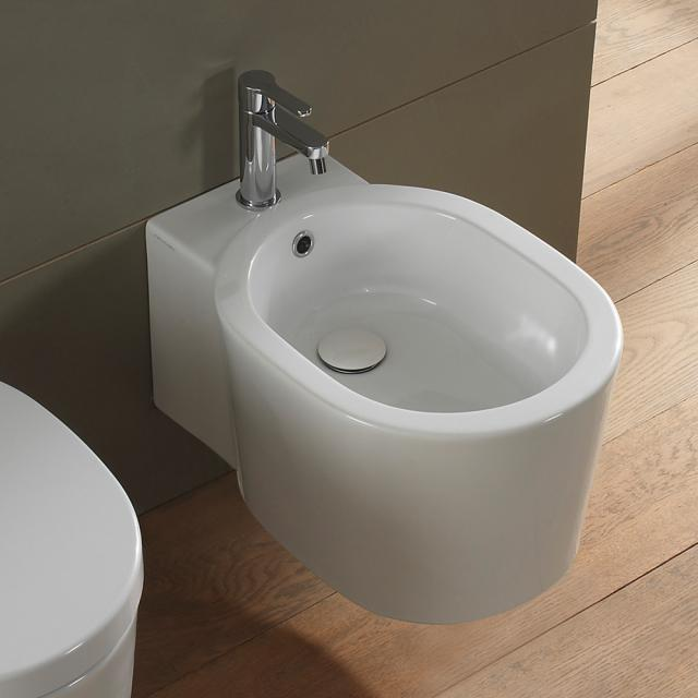 Scarabeo Bucket wall-mounted bidet white