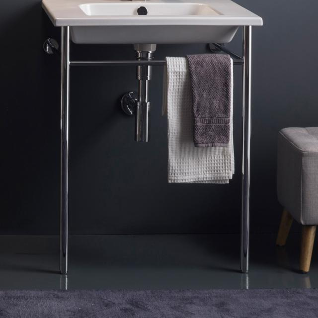 Scarabeo Etra metal stand for washbasins