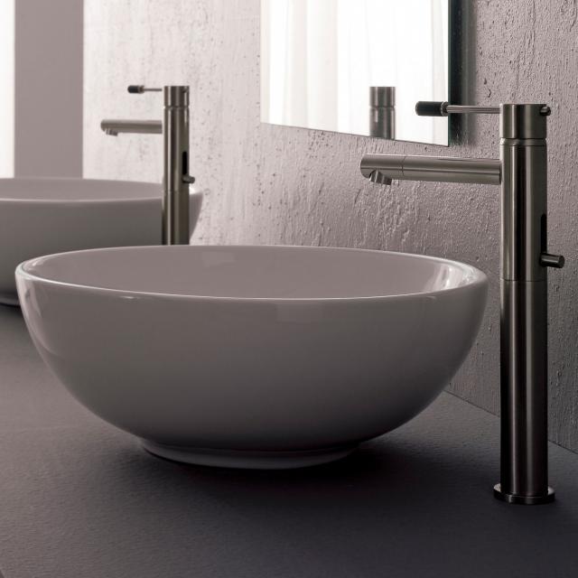 Scarabeo Sfera countertop washbasin white, with BIO system coating