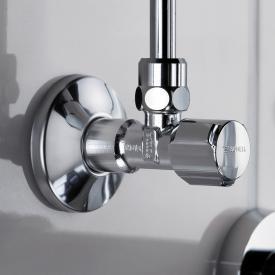 Schell regulating angle valve COMFORT, KIWA certified self-sealing
