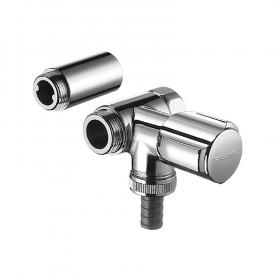 Schell auxiliary connection valve COMFORT for wall fittings, connection right