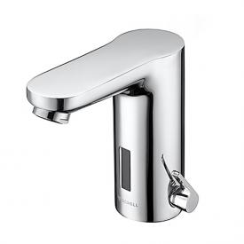Schell CELIS E electronic basin mixer HD-M, mains operated with concealed power supply