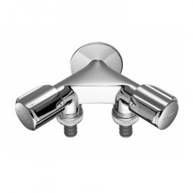 Schell double auxiliary connection valve COMFORT
