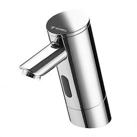 Schell PURIS E electronic basin mixer HD-K, mains operated with concealed power supply