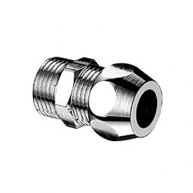 Schell straight screw connection with male thread for copper pipe Ø 10 mm