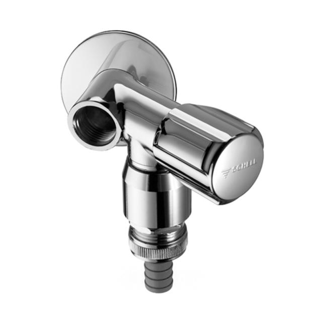 Schell auxiliary connection valve COMFORT for single draw-off point, DVGW certified