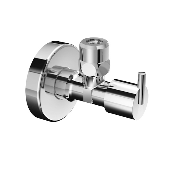 Schell regulating angle valve PINT with compression joint
