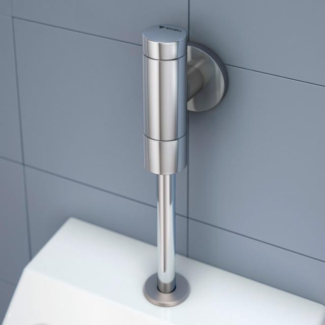 "Schell toilet flush valve SCHELLOMAT BASIC SV w. service shut-off 3/4"""
