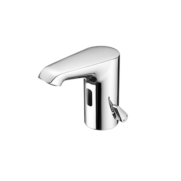 Schell XERIS E electronic basin mixer S with thermostatic temperature controller with battery