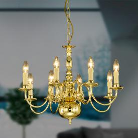 Herbert Schmidt Gent pendant light 8 heads