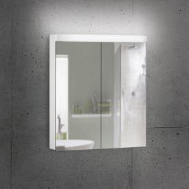 Schneider LOWLINE Basic mirror cabinet with 2 doors neutral white