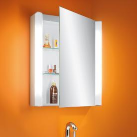 Schneider MOANALINE mirror cabinet, with 1 door, exterior lighting