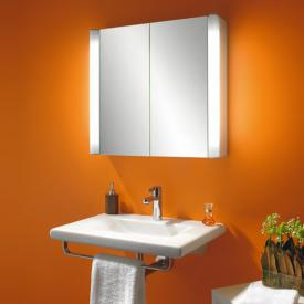 Schneider MOANALINE mirror cabinet with 2 doors, outer lighting