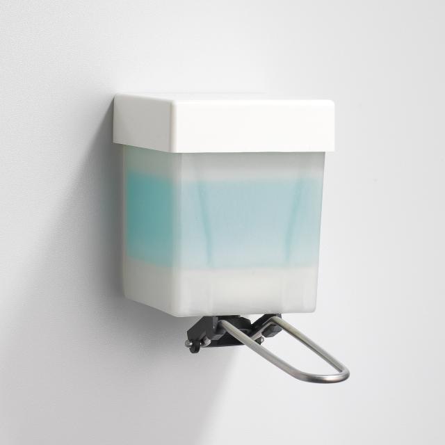 Schneider CARELINE Flex-Sana disinfectant dispenser with arm lever