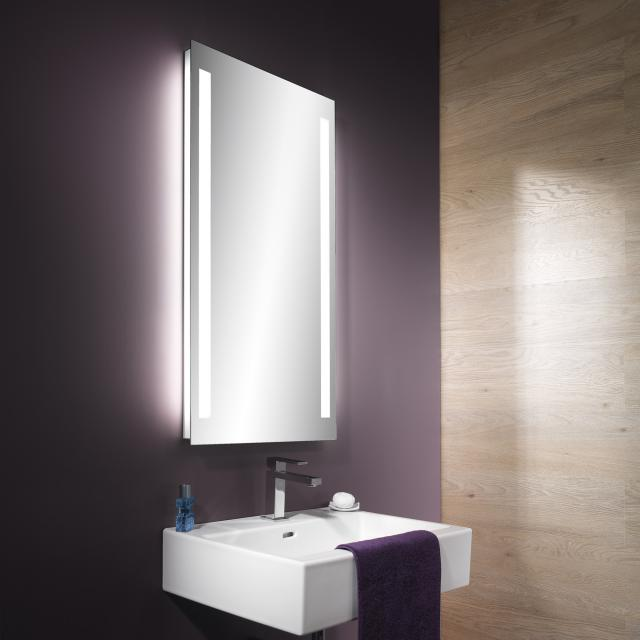 Schneider TRILINE mirror with LED lighting without sound system