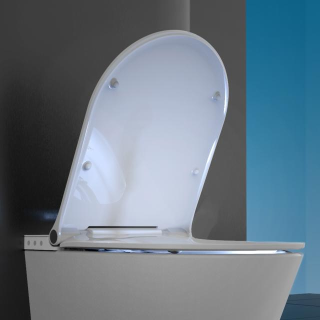 Schütte Cesari toilet seat with cover for shower toilet